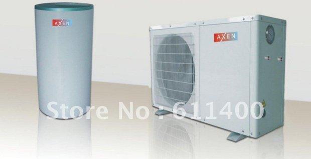 DHW heat pump-refrigerant