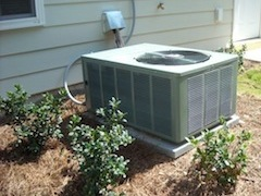 hvac air conditioner or heat pump condensing unit