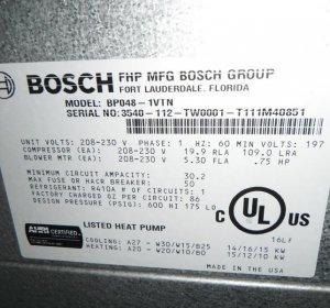 Fhp Heat Pump Thermo Pump