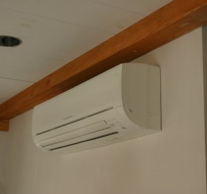 Heating with a heat pump