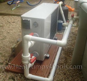 Thermo pump pool Heater