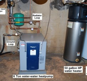 What is an electric heat pump?