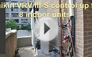 Daikin VRV Ductless Air conditioner & Heat pump