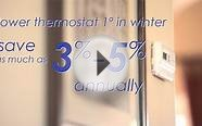 Energy Efficiency - Heat Pump and Thermostat
